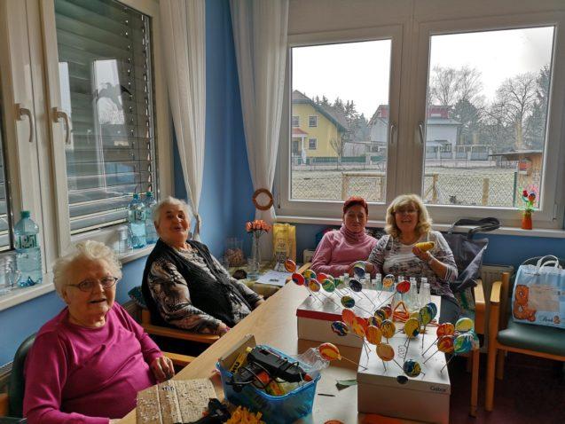 Kreative Vorbereitungen für das Osterfest